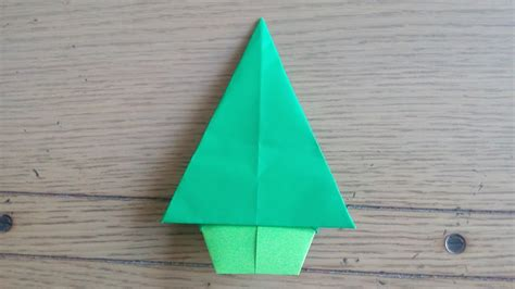 origami facile sapin de no 235 l tree by alexandre 6 ans