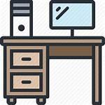 Icon Bureau Computer Desk Meja Belajar Escritorio