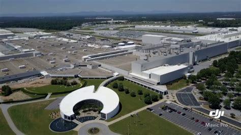 Drone Aerials @ Bmw Mfg Corp / Plant Spartanburg, Sc Auto