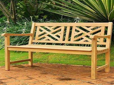 outdoor bench plans and different options available