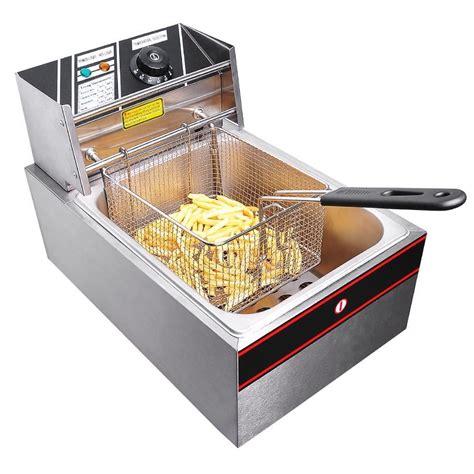 Countertop Fryers by 6l Electric Countertop Fryer Commercial Basket