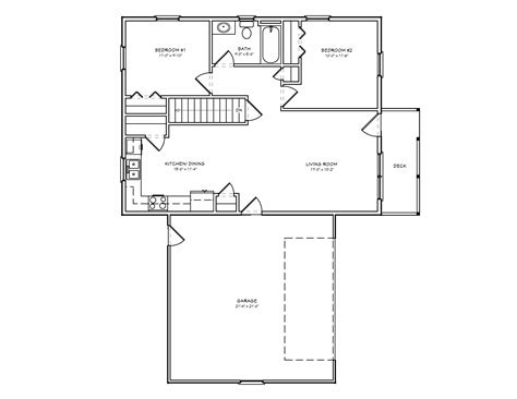 small house plan d67 884 small 2 bedroom houseplan cabin