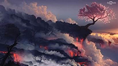 Scenery Japanese Japan Tree Fuji