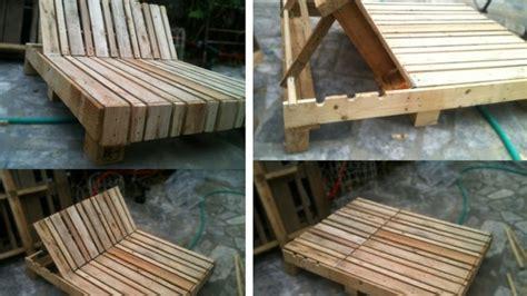 chaise longue palette recycler des palettes de bois en 65 idées créatives