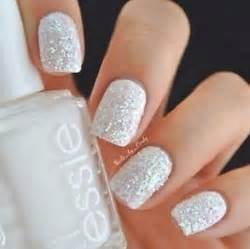 White nail designs by essie polish pretty