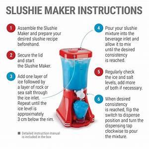 How To Use A Slushy Machine