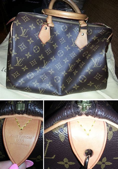 Louis Vuitton Speedy Bag Authenticity - 4 different fakes ...
