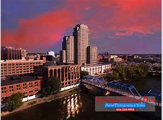 Downtown Grand Rapids, MI Drone Aerial Photography
