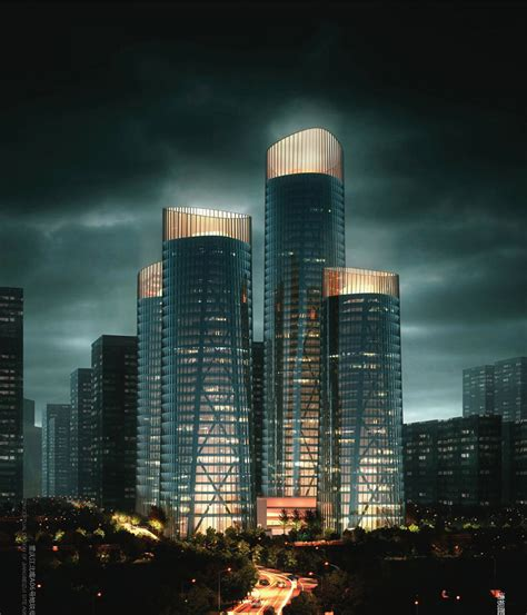 chongqing business center  united design group