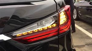 2016 Lexus Rx Dynamic Tail Light