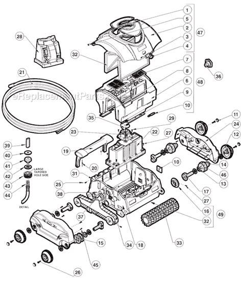 Tiger Shark Wiring Diagram by Hayward Sharkvac Parts List And Diagram