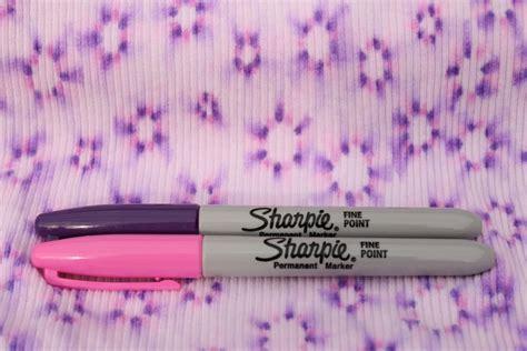 Crown Hill Diy Sharpie Tie Dye