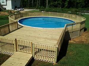 Pool Dach Rund : 22 amazing and unique above ground pool ideas with decks ~ Watch28wear.com Haus und Dekorationen