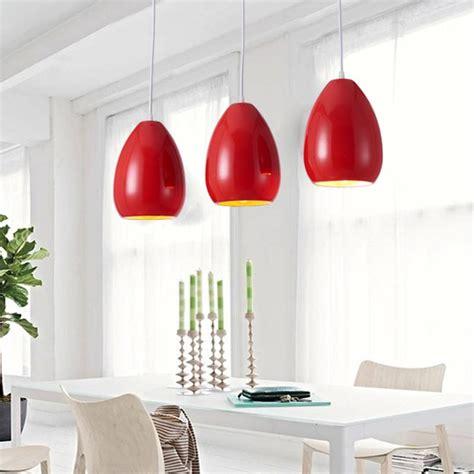 red hanging kitchen lights modern pendant light dining room kitchen restaurant e27