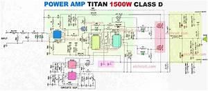 Simple High Watt Fet Amplifier Circuit Diagram
