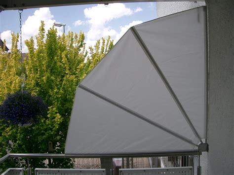 Balkon Sichtschutz Sonnenschutz Fächer Balkonfächer