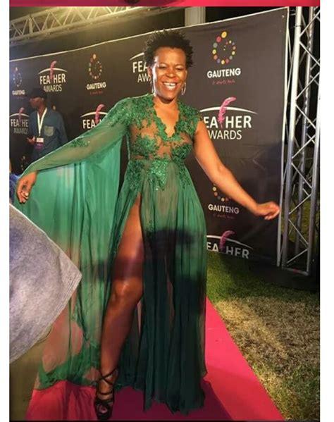 Zodwa Wabantu Goes Pantless At 2017 Feather Awards Shows
