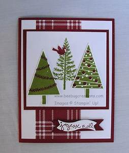 festival of trees stampin up ideas