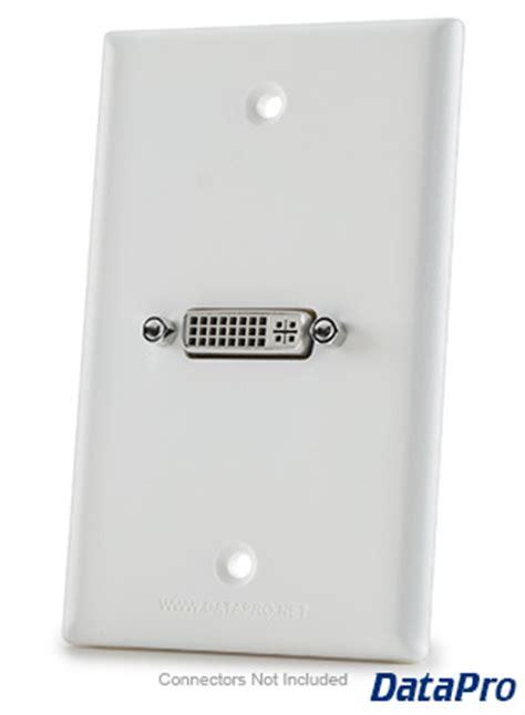 dvi wall plate datapro