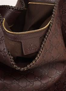 Light Luxury Brand Gucci Chocolate Brown Leather Large Horsebit Quot Guccissima
