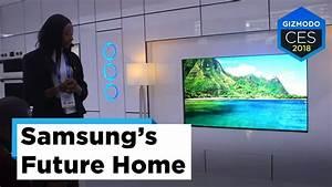 Samsung Smart Home : samsung 39 s smart homes ces 2018 youtube ~ Buech-reservation.com Haus und Dekorationen