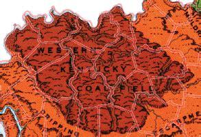 Kentucky Physiographic Regions - Western Kentucky Coal Field