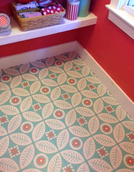 peel  stick decorative floor decals mirth studio