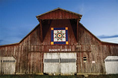 discover backroad treasures  tennessee quilt trails