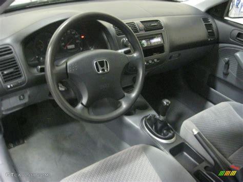 2003 honda civic interior gray interior 2003 honda civic dx coupe photo 88256468