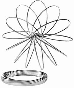 Toroflux: Slinky-like toy made from a single band of metal