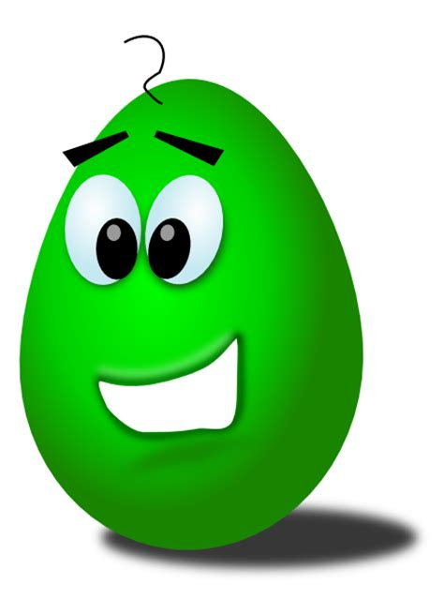 green comic egg clip art  clkercom vector clip art