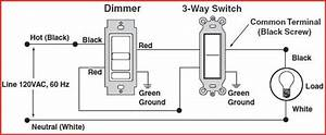 issue when replacing dimmer on 3 way switch settup With 3 way switch hot