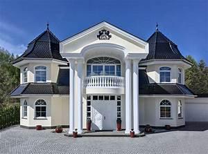 Kleine Fertighäuser Kaufen : repr sentative stadtvilla mit klassischem portal ~ Watch28wear.com Haus und Dekorationen