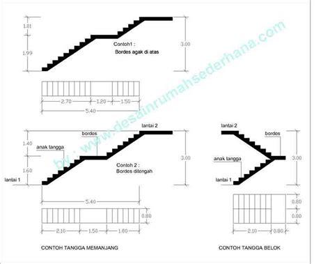 membuat tangga rumah minimalis desainrumahsederhanacom