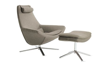 Metropolitan Glider And Ottoman by Metropolitan Chair And Ottoman Design Within Reach 1