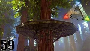 Cabane Dans Les Arbres Construction : construction d 39 une cabane dans les arbres ark survival evolved ep59 youtube ~ Mglfilm.com Idées de Décoration