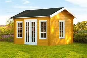 Fenster Einfachverglasung Gartenhaus : gartenhaus skanholz milano blockbohlen holzhaus mit ~ Articles-book.com Haus und Dekorationen