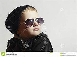 Fashionable Little Boy In Sunglasses.Child.Winter Style ...