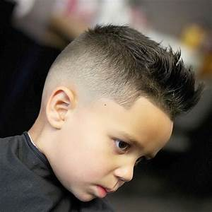Mohawk With Line Up Haircuts For Boy Kid Boy Line Up