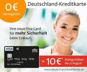 Gutschrift Auf Kreditkarte : deutschland kreditkarte beitragsfrei startguthaben reiserabatt ~ Orissabook.com Haus und Dekorationen