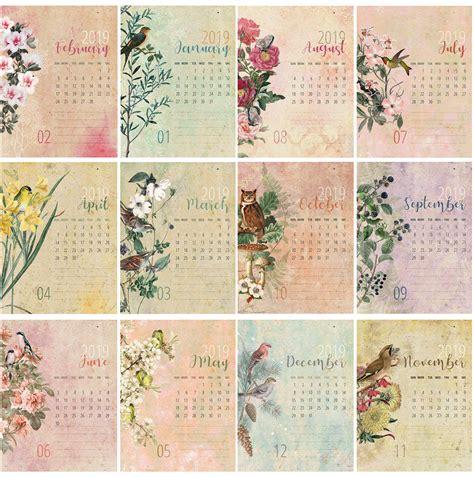 printable calendar  cd case calendar