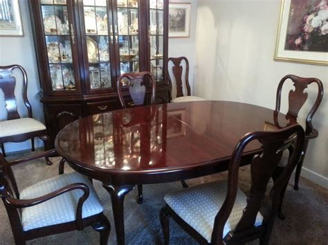 thomasville formal dining set ebay