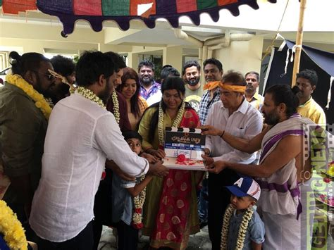 Jayam Ravi 's Adanga Maru Movie Pooja Gallery