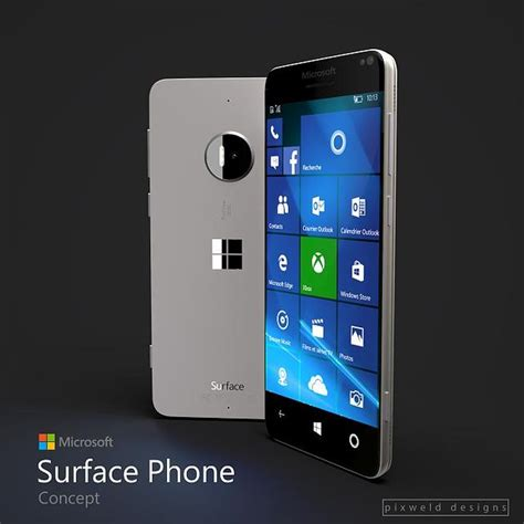 microsoft windows phone surface phone concept concept phones