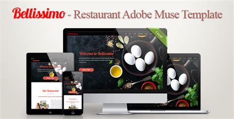 Restaurant Adobe Muse Template By Vtg_design