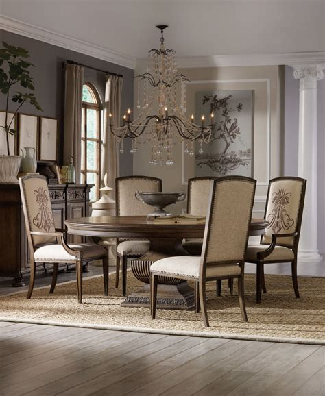 Rhapsody 72 Inch Round Table Dining Room Collection By
