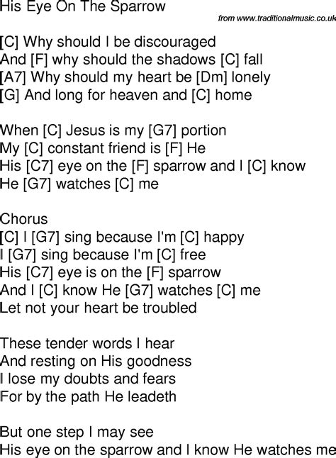 Breathe Easy Testo by Time Song Lyrics With Chords For His Eye Is On The