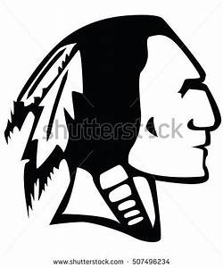 Indian Head Mascot Vector Illustration Stock Vector ...