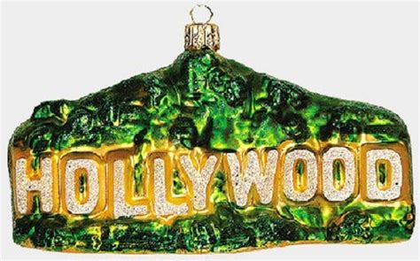 hollywood christmas ornaments california