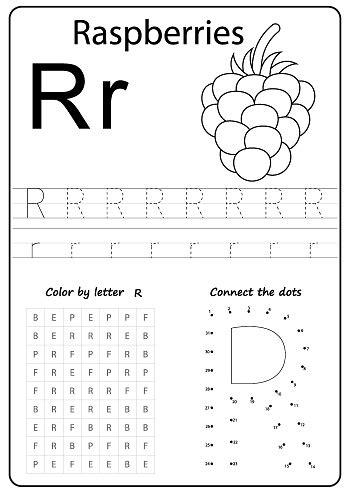 writing az alphabet exercises game  kids writing letter